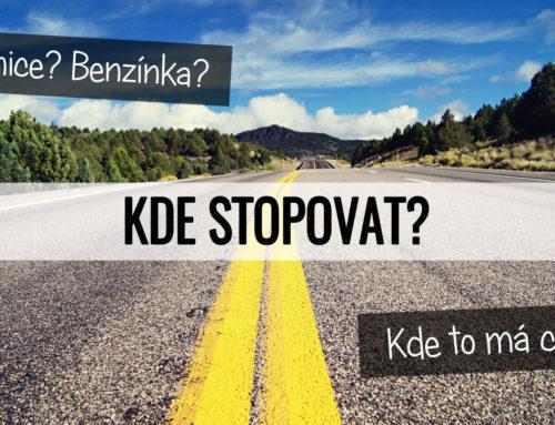 Kde stopovat?