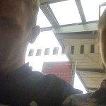 Selfie z nádraží