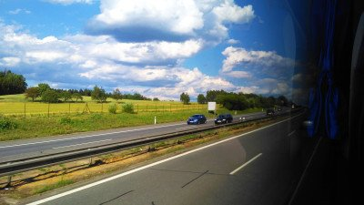 cestování autobusem
