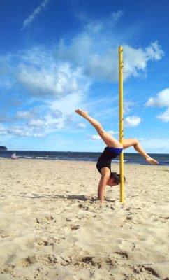 Pole Dance u moře