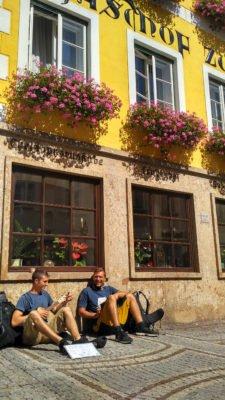 Buskeři v Kremsu
