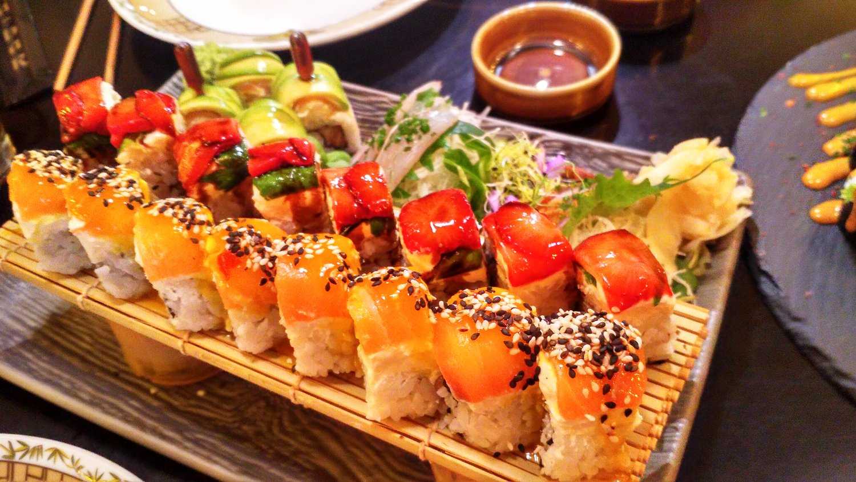 Sushi v Budapešti