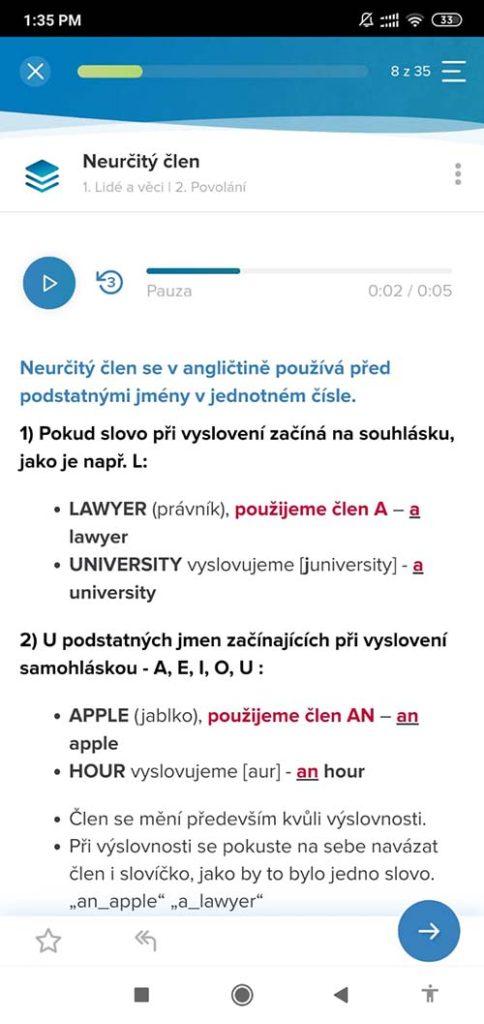 online jazyky aplikace